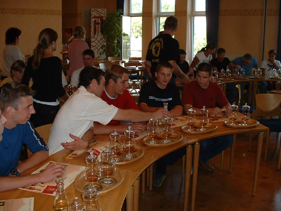 Brennerei Asbach Burschenverein Ausflug